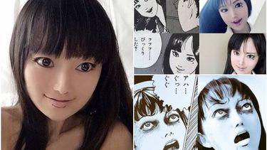 หลอนเป๊ะเว่อร์! สาวญี่ปุ่นคอสเพลย์ตามการ์ตูนสยองขวัญ เหมือนเป๊ะแทบแยกไม่ออก