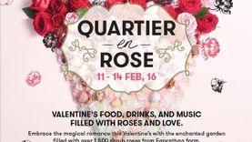 ดิ เอ็มควอเทียร์ ชวนสาวๆ ช้อปขนมสื่อรัก แด่คนพิเศษในวันวาเลนไทน์ ในงาน Quartier en Rose