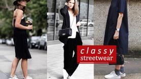 Classy streetwear แต่งลุคแพงกับ รองเท้าผ้าใบ สวยเท่ได้แบบมีระดับ!