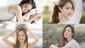 รวม 4 สาวผมยาว หน้าละมุน หุ่นเป๊ะ จากเพจ A Girl สวยฟุ้งน่ามอง ทั้งคน ทั้งภาพ!