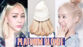รวมไอเดีย สีผมแพลตินั่มบลอนด์ Platinum blonde สีที่ต้องลองย้อมซักครั้งในชีวิต!