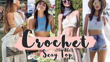 รวมแฟชั่น Crochet Top เสื้อครอปถักสุดเซ็กซี่ หน้าร้อนนี้มีไว้ ไม่เอาท์!