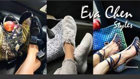 ดูกันเพลินๆ! สไตล์แมทช์กระเป๋าชิคๆ รองเท้าเริ่ดๆ แบบ Eva Chen แฟชั่นนิสต้าตัวแม่