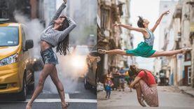STREET BALLET ชุดภาพถ่ายสตรีทบัลเล่ต์สุดอลัง สวยปัง ณ ประเทศคิวบา!