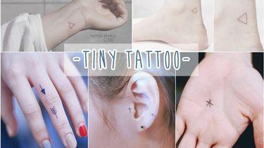 รวมไอเดีย รอยสัก Minimal แบบ Tiny Tattoo สักเล็กๆ เจ็บน้อยๆ แต่เก๋มาก !