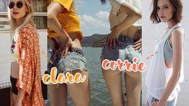 แลกหุ่นกันไหม? Clara & Corrie 2 สาวแห่ง Chadwick Models หุ่นละมุน ก้นเป๊ะมาก!