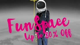 Fashion Island – Fun Space ชวนหนุ่มสาวร่วมสนุก ช้อปมันส์กับสินค้า ลดสูงสุดถึง 80%