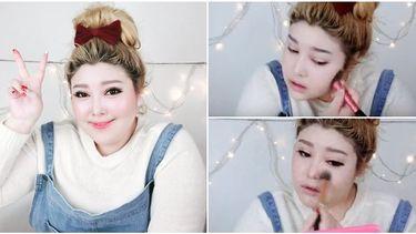 How to แต่งหน้าสาวพลัสไซส์ เปลี่ยนหน้าบานให้กลายเป็นสาวเกาหลีสุดแบ๊ว
