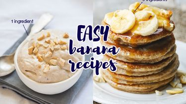 3 เมนูกล้วย วิธีทำง่ายกว่าปอกกล้วย ด้วยส่วนผสมไม่เกิน 3 อย่าง!