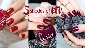 รวม 5 เฉด ยาทาเล็บสีแดง ที่ต้องมี อัพดีกรีสวยแพง แถมนิ้วขาวผ่อง!