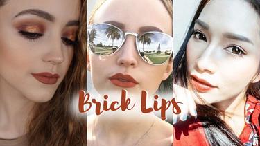รวมไอเดีย ทาปากสีส้มอิฐ Brick Lips ให้สวยปัง แบบเหล่าบิวตี้บล็อกเกอร์