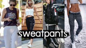 เก็ทลุคสปอร์ตด้วย กางเกงวอร์ม Sweatpants ไอเท็มชิ้นเท่ มีสไตล์ แต่ใส่สบายมาก!