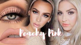 รวมไอเดีย แต่งหน้าโทน Peachy pink ชมพูพีช หวานหรู เซ็กซี่ ดูดี ดูแพง! (มีคลิป)