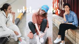 อยากมีให้ครบ! ไอเดียใส่ 5 รองเท้าผ้าใบสีขาว จาก 8 ไอดอลสาว ใส่แล้วน่ารักปนเท่!