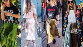 Metallic Pleated Skirt กระโปรงพลีทเมทัลลิค ไอเท็มฮอต อัพลุคสาวแฟชั่นนิสต้า!