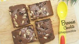 อร่อยเจ้มจ้น! สูตร บราวนี่ช็อกโกแลต chocolate brownies ทำง่าย แสนจะฟิน กินลืมอ้วน!
