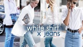 ง่ายแต่ชิค! เชิ้ตขาว + ยีนส์ คลาสซี่มีสไตล์ สวยแบบไม่ต้องคิดเยอะ!