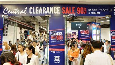 เริ่มแล้ว ! ห้างเซ็นทรัลชิดลม  จัดงานเคลียร์แลนซ์เซล ลดราคาสินค้าสูงสุด 90%