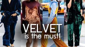 Velvet is the must! 20 ลุคแฟชั่น กำมะหยี่ สุดชิค ใส่แล้วดูดี ดูแพง!