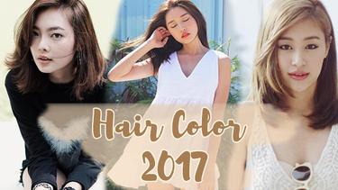 เทรนด์สีผม 2017 กับ 3 โทนสีผมฮิตรับปีหน้า สวย ดูดี มีเสน่ห์