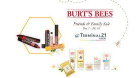เบิร์ตส์ บีส์ ฉลองครบรอบ 7 ปี จัดแคมเปญลดกระหน่ำ Friends & Family Sales at Terminal21