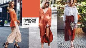 Flame สีส้มร้อนแรงแต่อบอุ่น 1 ในสี Pantone 2017 ที่ช่วยเพิ่มลุคของคุณให้ดูแพงขึ้น!