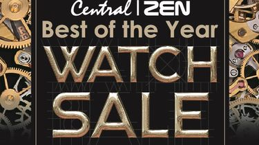 มองหานาฬิกาเรือนที่ใช่สำหรับคุณ ! ช้อปนาฬิกาที่ห้างเซ็นทรัลทุกสาขา ลด 10-30%