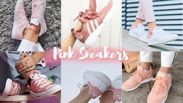 ละลาย! 5 รองเท้าผ้าใบ สีชมพู 5 รุ่น เท่ปนหวาน น่าสอย ถอยมาใส่!