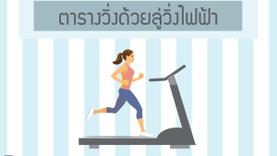 แจก!! ตารางวิ่งด้วยลู่วิ่งไฟฟ้า สำหรับมือใหม่ ลดน้ำหนักได้ใน 20 นาที