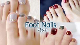 รวมไอเดีย สีทาเล็บเท้า สวยๆ ทาแล้วเท้าขาวผ่อง สะอาดตา ไม่ต้องกลัวเท้าดำ!
