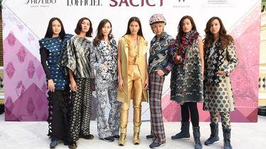 แนท-อนิพรณ์ สวยเลอค่า ฟินาเล่! แฟชั่นผ้าไทย From Weaving Street to Today Life's Craft