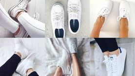 6 รองเท้าผ้าใบสีขาว ที่สาวๆ ไม่มีไม่ได้แล้วว