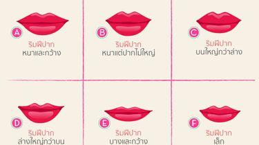 ริมฝีปากบอกนิสัย คุณเป็นคนยังไงรู้ได้ด้วยลักษณะปากคุณ!