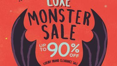 CENTRAL LUXE MONSTER SALE แบรนด์เนมเซล ลดสูงสุด 90% ที่ห้างเซ็นทรัลชิดลม