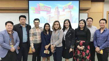 แม่หมอต๊อกแต๊ก กับบทบาทใหม่ นักศึกษาปริญญาโท ในรั้วมหาวิทยาลัย หอการค้าไทย