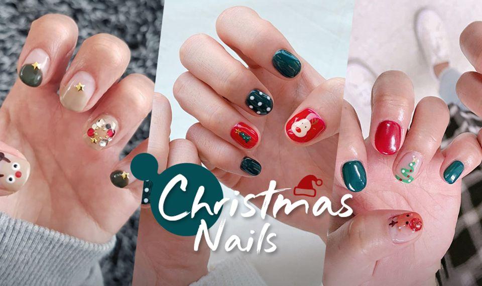 ไอเดียทาเล็บคิ้วท์ๆ ลายคริสต์มาส สดใสน่ารัก จนต้องทำตามให้ไว!