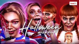 หลอนๆ ไม่มีเลือด! มาแต่งหน้าฮาโลวีนเป็นเหล่าตัวร้าย ผีร้าย สไตล์ noyneung makeup กัน!